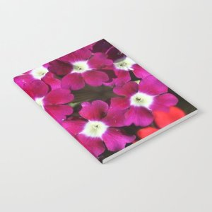 Verbena Flowers Notebook