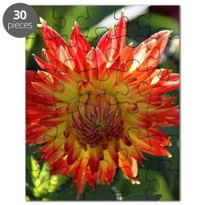 Dahlia Flower Puzzle