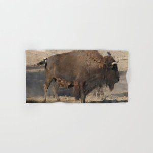 Buffalo Bull Hand & Bath Towel