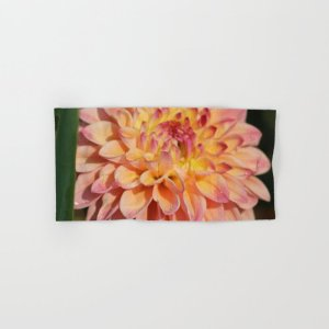 Colors Of The Dahlia Flower Hand & Bath Towel