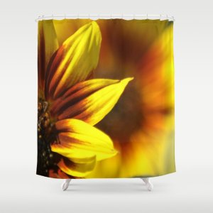 Colors of the Sunflowers Shower Curtain