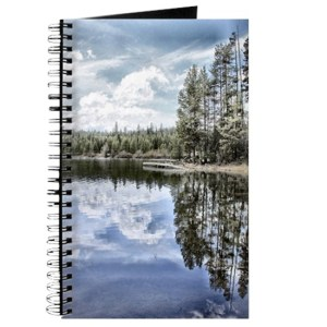 Design Of Water Reflections Journal