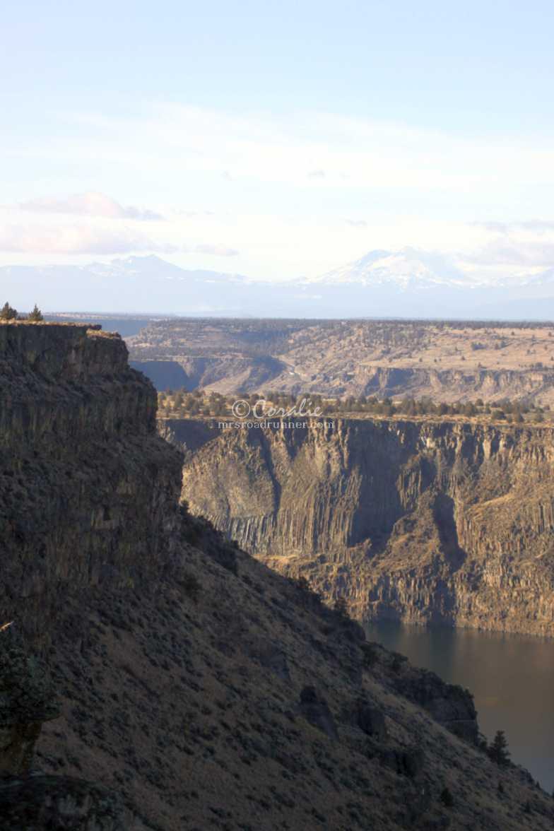 high desert canyon landscape 007