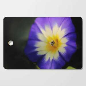 Dwarf Morning Flower Cutting Board