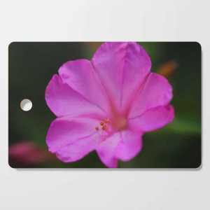 Four Oclock Flower In Pink Cutting Board