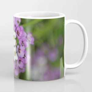 alyssum flower bloom Coffee Mug