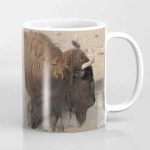 Buffalo Bull Coffee Mug