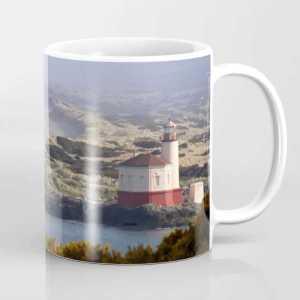 Pacific Coast Lighthouse Coffee Mug