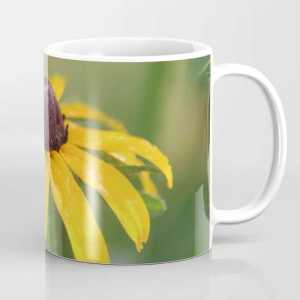 Yellow Daisy Flower Coffee Mug