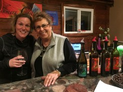 My new bestie. If you visit Claire at Cashmere Cellars, tell her she has my heart.