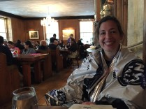 Post-race brunch at Fraunces Tavern