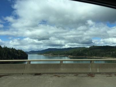 Beautiful drive through Oregon.