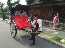 Kimonos are popular in Kyoto