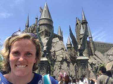 Geeking out at the Wizarding World of Harry Potter.