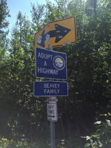 Every sign in Alaska looks like this.