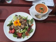 Greenbank Farms lunch