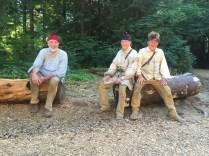 Fort Clatsop reenactors