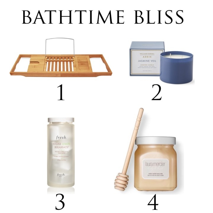 Mother's Day Gift Guide Bathtime Bliss