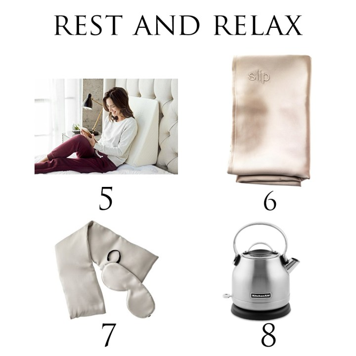 Mother's Day Gift Guide Rest and Relax