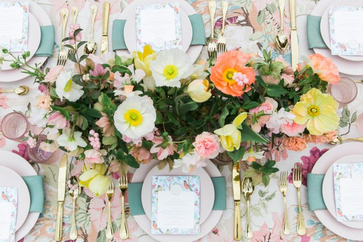 Spring Tablescape with Fete Nashville
