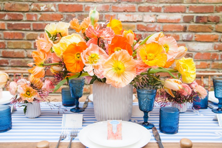 Delegating with Draper James: An End-of-Summer Tablescape
