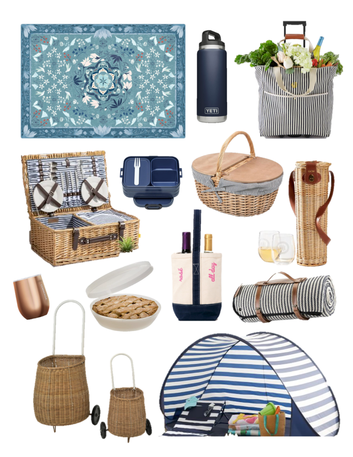 "Delegate ""Dining Out"" – Blue and White Boujee Picnic"