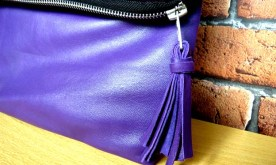 A leather tassle