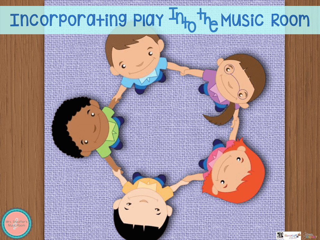 Incorporating Play Into the Music Room