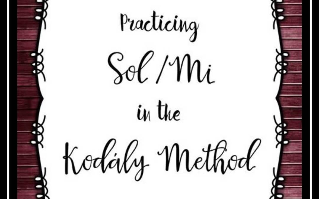Practicing Sol/Mi