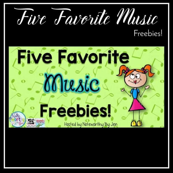 5 Favorite Music Freebies!