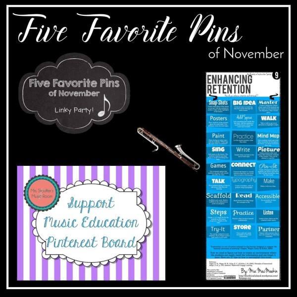 Five Favorite Pins