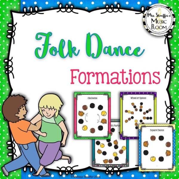Folk Dance Formations