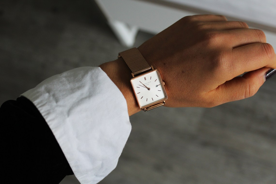 Rosefield Uhr - The Boxy