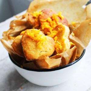 Mandel-Orangen Kekse