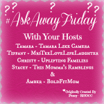 #AskAwayFriday Nov 7, 2014