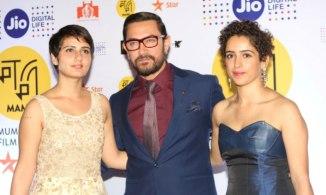 Fatima Sana Sheikh, Aamir Khan, Sanya Malhotra