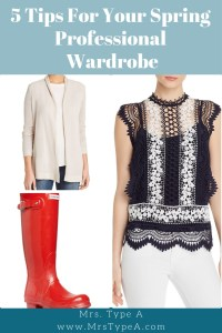 5 Tips For Your Spring Professional Wardrobe