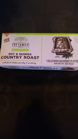A brand-new roast from Fry's. They didn't have any tasters of this but as I love love LOVE most Fry's products I'm confident it will be tasty.