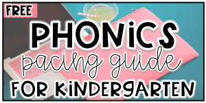 KINDERGARTEN-PHONICS-PACING-GUIDE