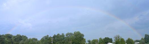 Stitched image rainbow
