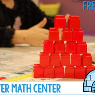 Winter Math Station Free File. Here are 2 fun math centers that your class can try out for free. Addition and 10 frame fun!