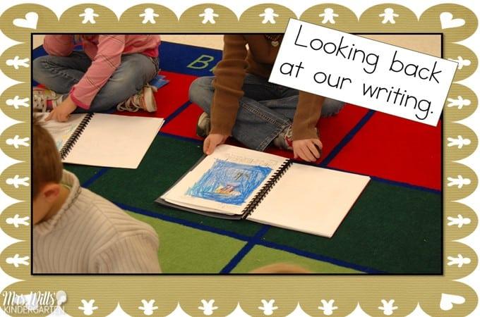 Writers' Workshop December Kindergarten Writing