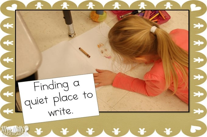 Writers Workshop December Kindergarten Writing. Here is a look at the progress we have made in December in Writers Workshop. #writing, #kindergartenwriting #writersworkshop