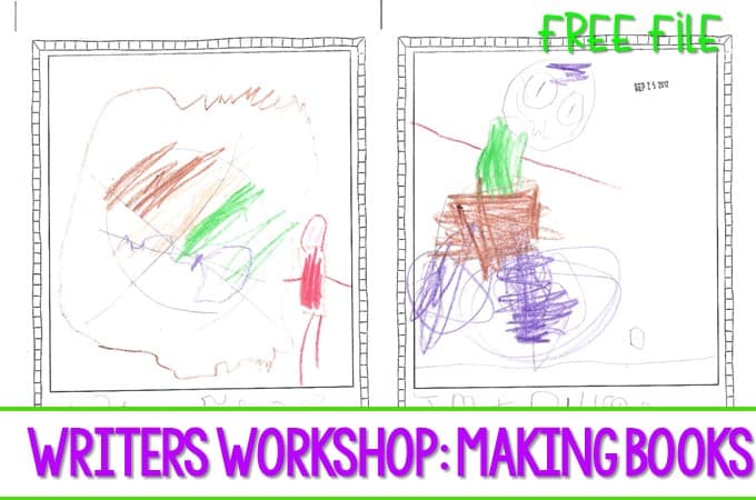 Writer's Workshop Making Books in kindergarten is not always easy. However, the reward is worth the effort!
