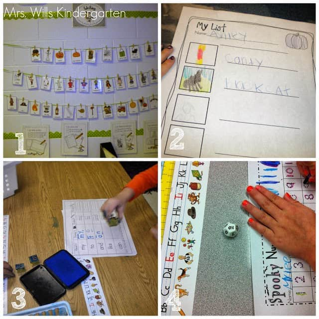 Station Management ideas for kindergarten.  Want you students to work independently?  Here are a few ideas.
