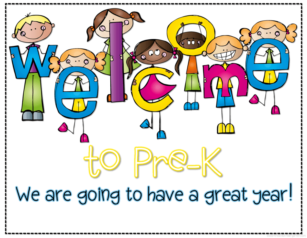 Image result for welcome back to prek
