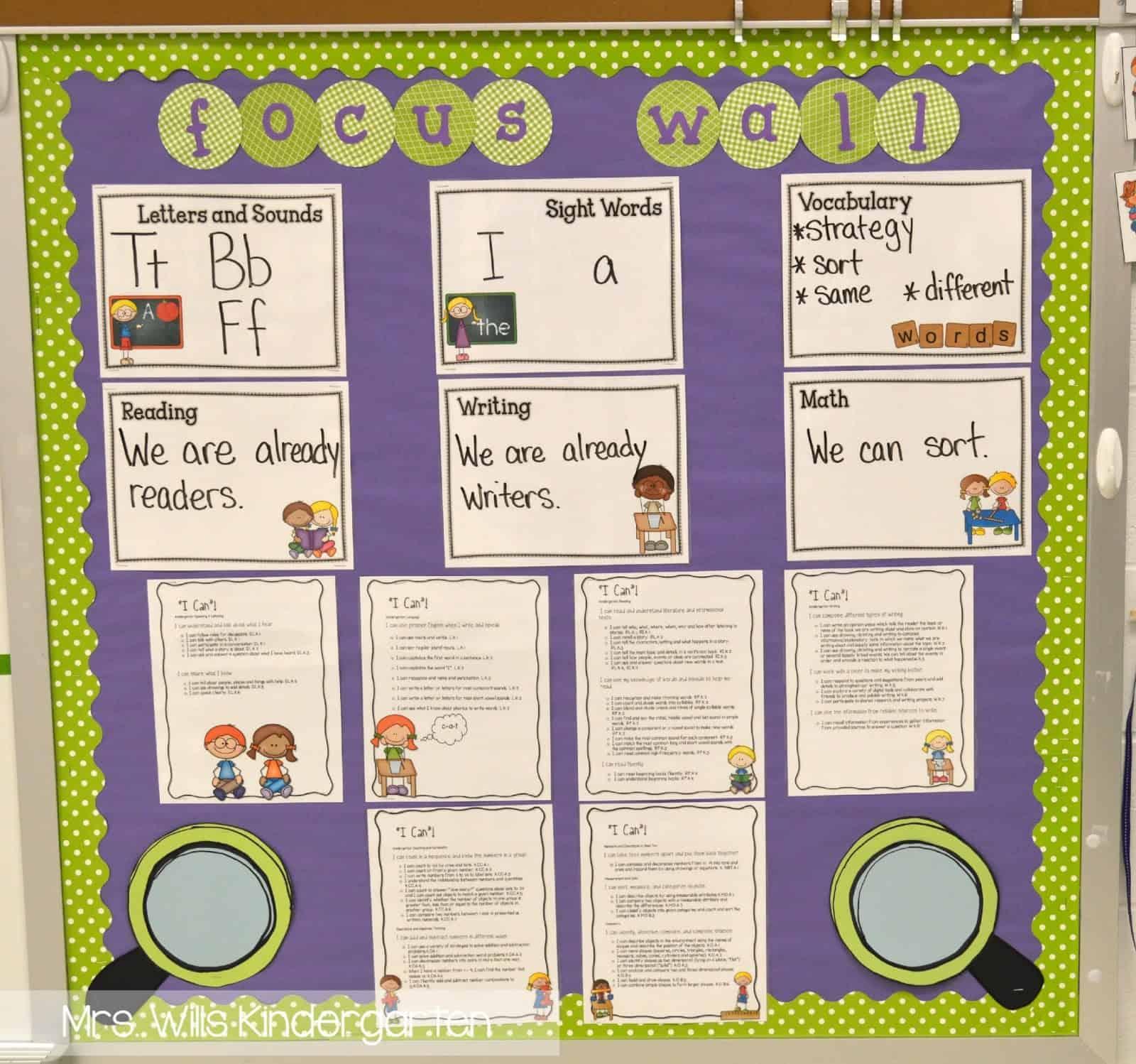 Kindergarten First Week Lesson Plans