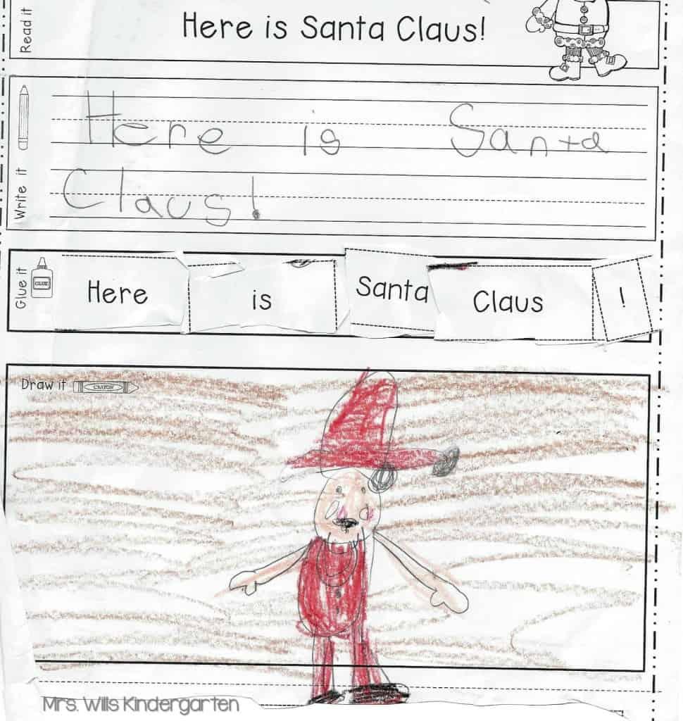handwriting practice for kindergarten