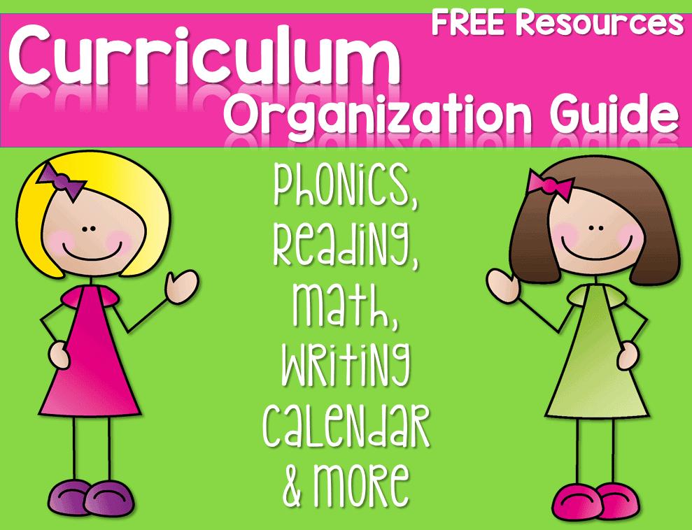 Free Curriculum Guide