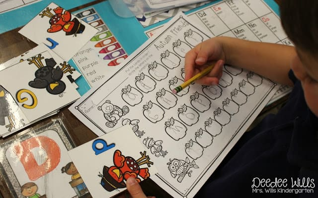 Looking for some ideas for activities for your students? Check out these printable December Kindergarten math and literacy stations!
